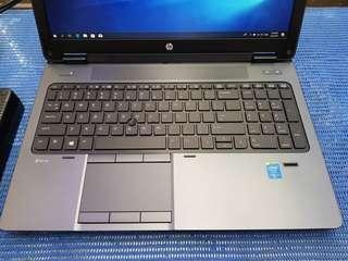 """HP ZBook 15 - Workstation CORE i7 - 4810MQ - 16GB RAM - 256GB SSD NVIDIA QUADRO K2100M - 15.6"""" FULL HD 1920 X 1080"""