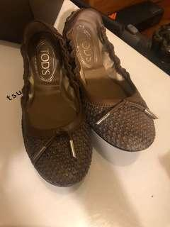 Tod's flat brown color - 35