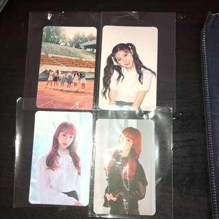 WTS loona photocards