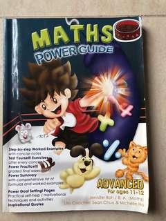 Just Education Maths Power Guide Advanced for ages 11-12