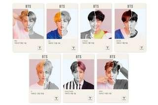 BTS Clear 2019 T-Money Card
