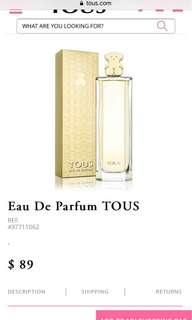 🚚 Tous perfume ( must go in next 2 weeks)