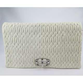 Miu Miu Crystal Leather Bag