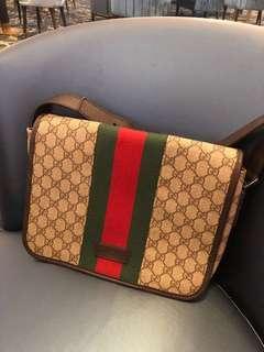 Authentic Gucci big sling bag