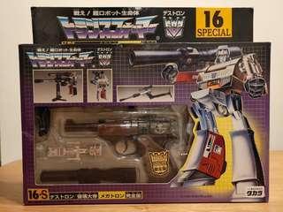 變形金剛 破壞大帝 16-S 16 Special 槍 麥加登 Transformer 16S Destron Destruction Emperor