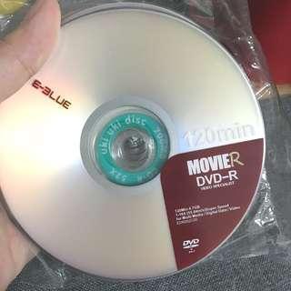 Free 全新 DVD-R 10隻+CD-R 2隻