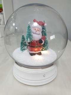 Santa Snowglobe ,Xmas decoration