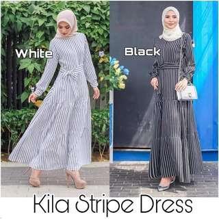 Kila Stripe Dress
