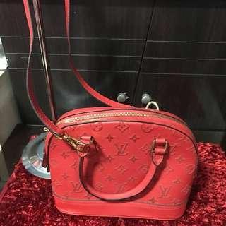 Preloved LV Alma Leather