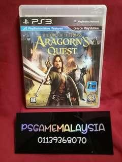 Ps3 The Lords Of The Ring Aragorn's Quest