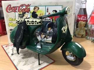 可口可樂 coca cola 復古電單車 美國限量版 連證書