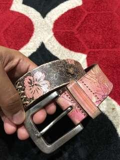 authentic fossil belt