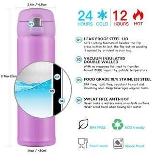 450ml Tavel Coffee Flask