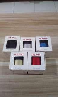 Brand new mini speaker colour blue/ gold/ sliver/red/black