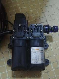 12Vdc/230Vac car wash pump set