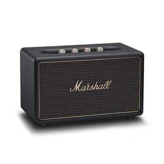 Marshall Acton Multi-room Wireless Wi-fi Speaker Black