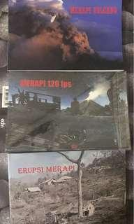 🚚 3 books about Merapi Volcano Eruption & photos