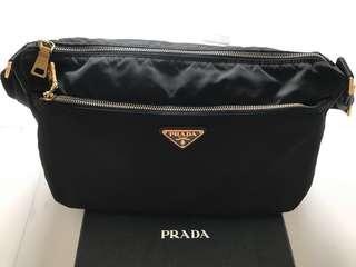 Prada Tessuto Black Sling Bag - PRICE REDUCED $1200