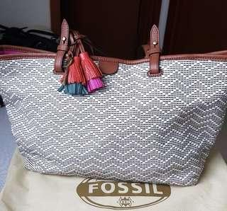 Fossil Bag wallet and charm