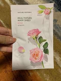 🚚 Nature Republic Rose Mask