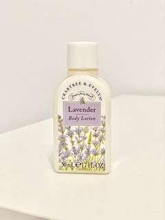 🚚 Crabtree & Evelyn Lavender Body Lotion 50ml