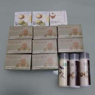 Tokyo milk soap conditioner lotion