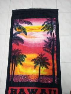 Hawaii bath towel