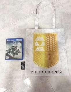 Destiny 2 PS4 + Tote Bag!