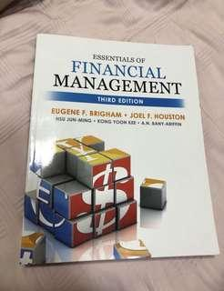NEW Essentials Of Financial Management