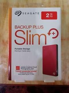SEAGATE External Hardisk 2TB