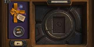 NEW HEARTHSTONE ACC W/ RISE OF SHADOWS PRE-PURCHASED
