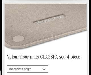 BN: Mercedes-Benz E Class W213 Floor Mat