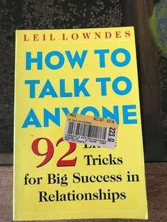 🚚 How to talk to anyone!