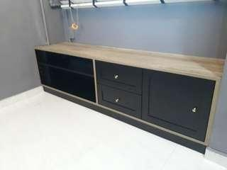 Customised Shaker Style TV Console/size rqd for quote