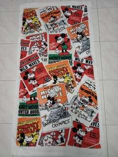 Mickey mouse rare bath towel