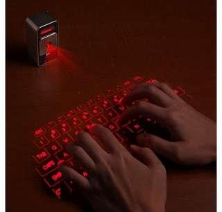 CUBE LADER VIRTUAL KEYBOARD BLUETOOTH WIRELESS NOT LOGITECH GAMING