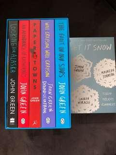 John Green Collection Novels Young Adult Boxset