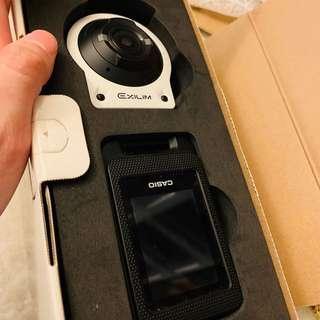 🚚 自拍神器 Casio EX-FR10 卡西歐 冒險陽光自拍神器 白色 加贈32GB 記憶卡