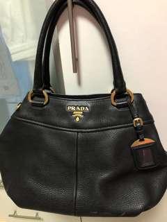 🚚 Black Prada Handbag