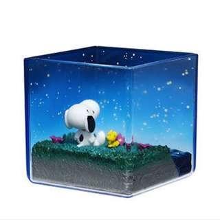 Snoopy Terrarium on Vacation #6 Starlit Sky