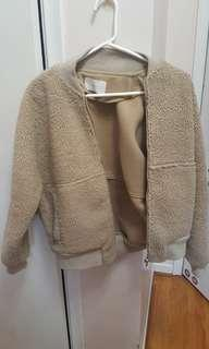 OAK AND FORT Size Small Teddy Jacket