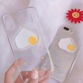 iphone 7全包透明立體蛋軟case