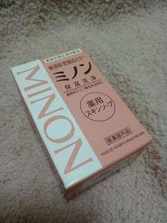 🚚 MINON 溫和護膚香皂  日本帶回 全新