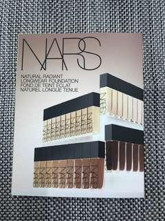 NARS Natural Radiant Longwear Foundation sample