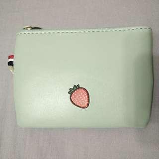 Strawberry Design Mini Pouch