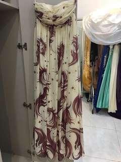 Long Skirt , gaun malam , gaun pesta , baju pesta , cewek