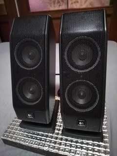 🚚 Logitech X-540  Satellite Speaker/1 pair
