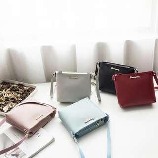 Brand New Autumn Fashion Women's Sling Bag Korean Pure Color Shoulder Bag