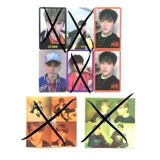 wts stray kids clé miroh photocards