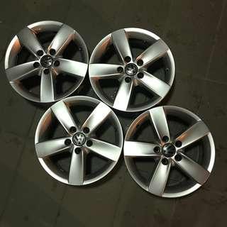"Original Volkswagen VW 16"" Navarra Rims Wheels"